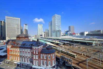 東京駅と山手線